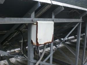 接続箱及び架台