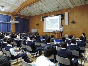 第一高校講演