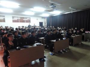 宮崎工業高校講演 生徒さんたち