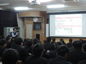 宮崎工業高校講演