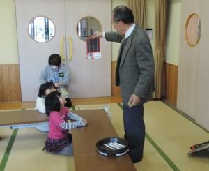 都原児童クラブ 再生可能エネルギー説明
