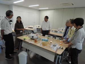 青島 公民館講座 てんぷら油ランタン