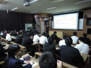 宮崎工業高校講演2